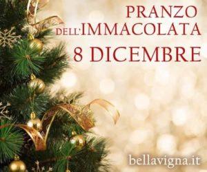 Pranzo dell' Immacolata 8 Dicembre ad Avellino e Provincia