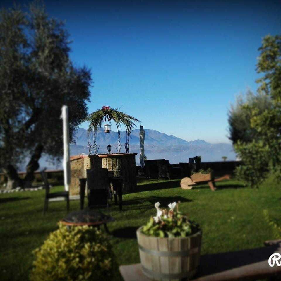 Bellavigna country house montefalcione avellino for Giardini esterni